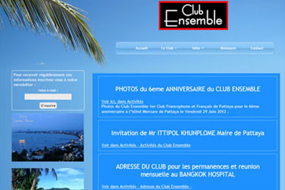 site association francophone Club Ensemble Pattaya Thaïlande